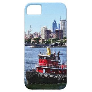 Philadelphia PA - Tugboat by Philadelphia Skyline iPhone 5 Case