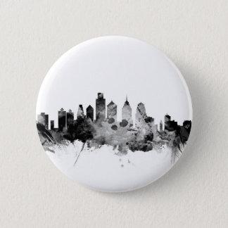 Philadelphia Pennsylvania Skyline 2 Inch Round Button