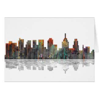 Philadelphia Pennsylvania Skyline Card