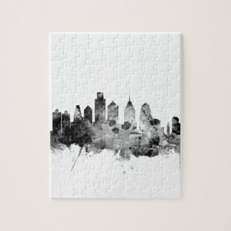 Philadelphia Pennsylvania Skyline Jigsaw Puzzle