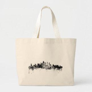 Philadelphia Pennsylvania Skyline Large Tote Bag