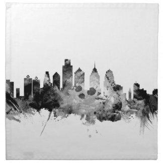 Philadelphia Pennsylvania Skyline Napkin