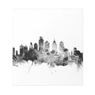Philadelphia Pennsylvania Skyline Notepad