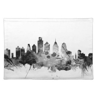 Philadelphia Pennsylvania Skyline Placemat