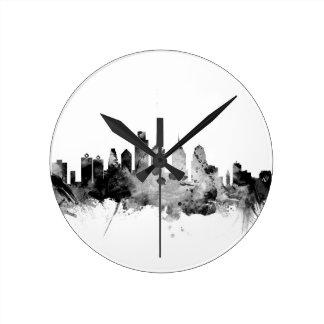 Philadelphia Pennsylvania Skyline Round Clock