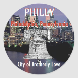 Philadelphia Pennsylvania Sticker