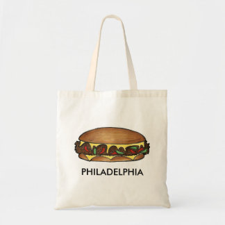Philadelphia Philly PA Cheese Steak Cheesesteak Tote Bag
