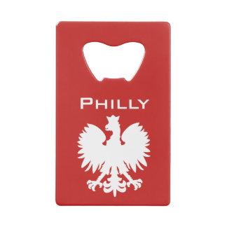 Philadelphia Polish Eagle Bottle Opener Credit Card Bottle Opener