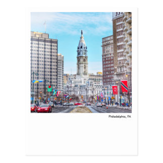 Philadelphia Post Card-City Hall Postcard