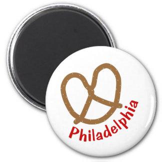 Philadelphia Pretzel Magnet