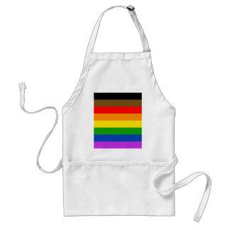 Philadelphia pride flag standard apron