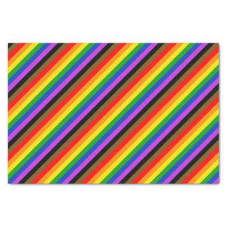 Philadelphia pride flag tissue paper