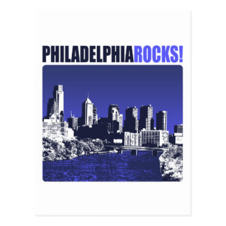 Philadelphia Rocks! Postcard