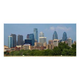 Philadelphia Skyline 10x22 PHOTO PRINT