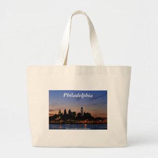 Philadelphia Skyline at Twilight Bag