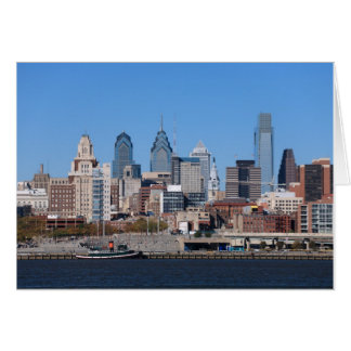 Philadelphia Skyline Card