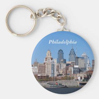 Philadelphia Skyline, Closeup Keychain