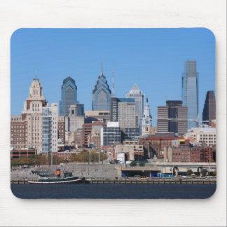 Philadelphia Skyline, Medium View Mouse Pad