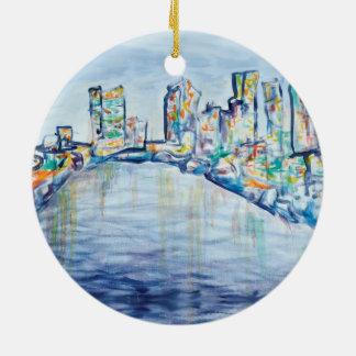 Philadelphia Skyline Ornament