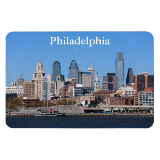 Philadelphia Skyline Premium Magnet
