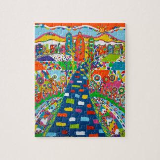 Philadelphia Skyline Puzzle