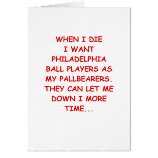 philadelphia sports card