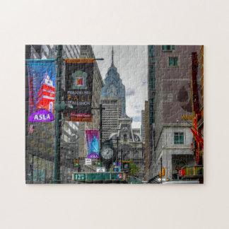 Philadelphia Street Scenes. Jigsaw Puzzle