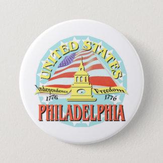 Philadelphia USA 1776 3 Inch Round Button