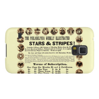 Philadelphia Weekly 1918 Stars & Stripes Newspaper Cases For Galaxy S5