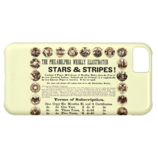 Philadelphia Weekly 1918 Stars & Stripes Newspaper Cover For iPhone 5C