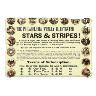 Philadelphia Weekly 1918 Stars & Stripes Newspaper iPad Mini Cover