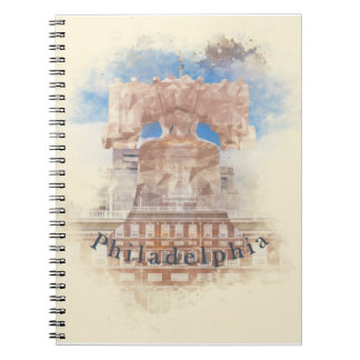 Philadelphia with Liberty Bell & Independence Hall Notebook