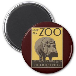 Philadelphia Zoo Magnet