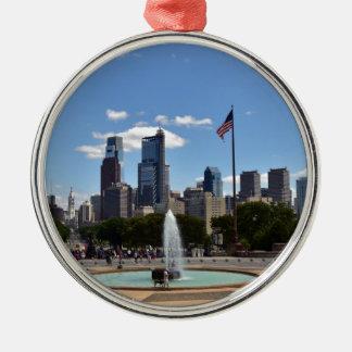Philadephia Metal Ornament
