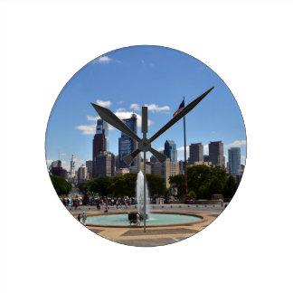 Philadephia Round Clock