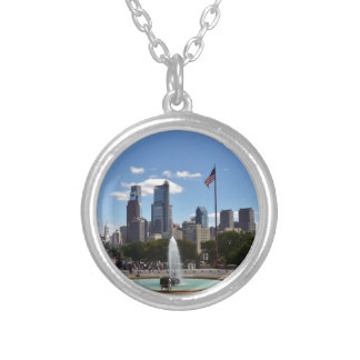 Philadephia Silver Plated Necklace
