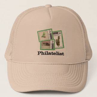 Philatelist 3 trucker hat