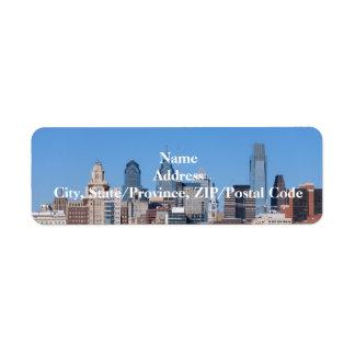 Phildadelphia Skyline Label