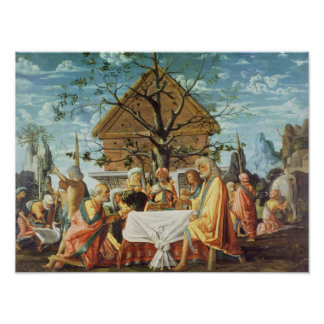 Philemon and Baucis, c.1500 Poster