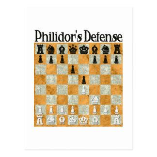 Philidor's Defense Postcard