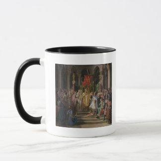 Philip Augustus  King of France Taking the Mug