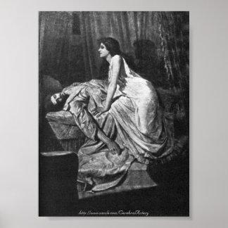 Philip Burne-Jones - The Vampire, 1897 Poster