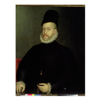 Philip II of Spain  1565 Postcard