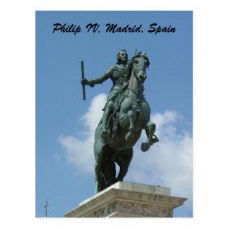 Philip IV Postcard