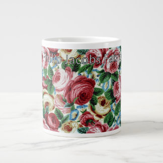 "Philip Jacobs Fabric ""Glory Rose"" Mug"