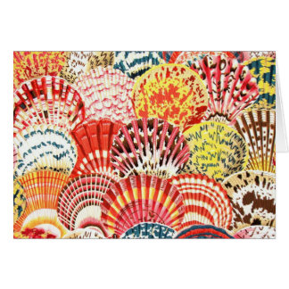 Philip Jacobs Fabric Scallop Shell Card