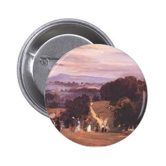 Philip Wilson Steer- Ludlow Walks Pinback Button