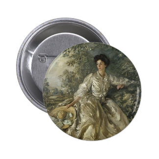 Philip Wilson Steer- Mrs Violet M Hammersley Pinback Button