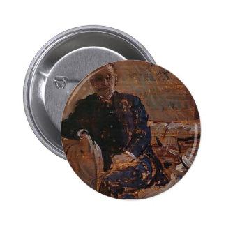 Philip Wilson Steer- Portrait of Francis James Pinback Buttons