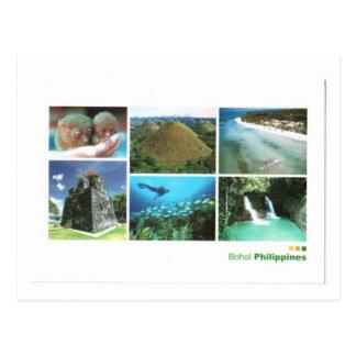 PHILIPINES BOHOL ISLANDS POSTCARD